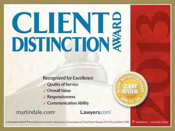 wayne-pa-probate-lawyers-2013-client-distinction